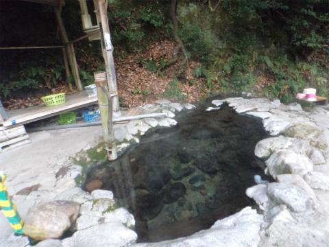 明礬温泉 ヘビん湯 大分 野天湯 温泉 画像
