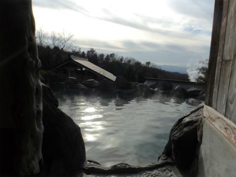 はげの湯温泉 山翠 はげの湯温泉 山翠 混浴露天風呂への道のり画像