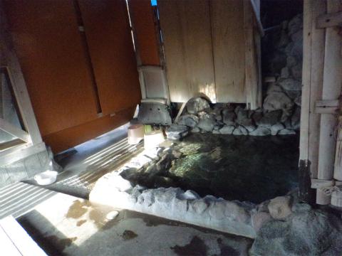 はげの湯温泉 山翠 洞窟風呂入口の画像
