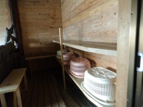 はげの湯温泉 山翠 貸切露天風呂の画像