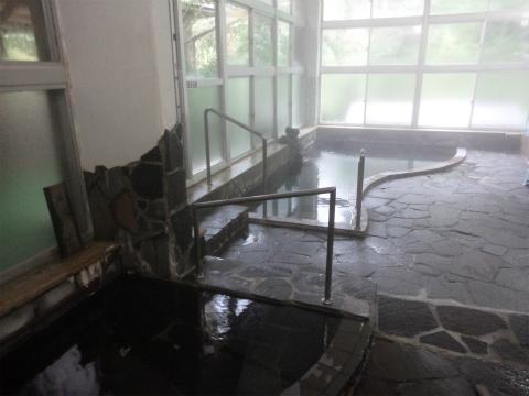 川中温泉 かど半旅館 混浴内湯 画像