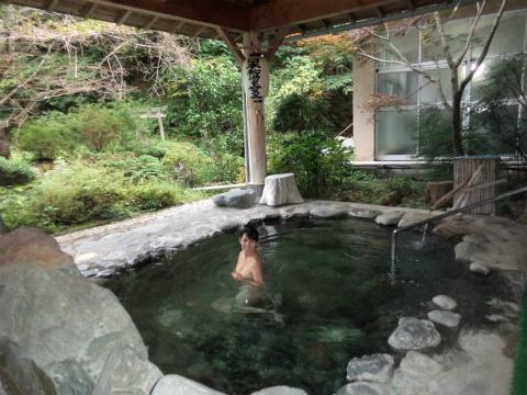 川中温泉「かど半旅館」