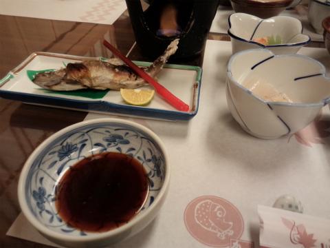 川中温泉 かど半旅館の食事 画像