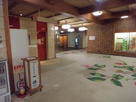 山中温泉「花つばき」の館内 ロビー階