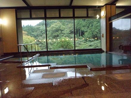山中温泉「花つばき」の大浴場