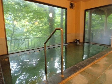 山中温泉「花つばき」の内湯