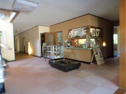岩間温泉 山崎旅館の玄関