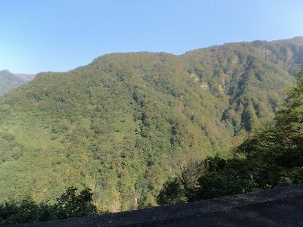 岩間温泉 山崎旅館からの景色は大パノラマ